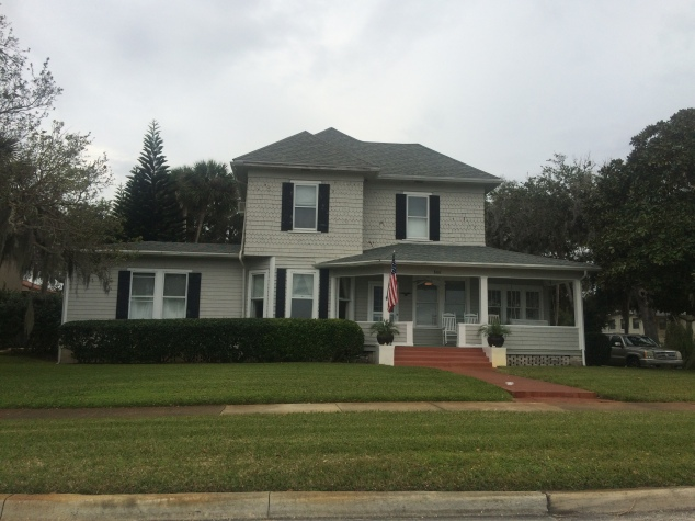 New Smyrna Beach Historic Home along Riverside Drive
